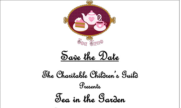May 10th – Save the Date for Tea in the Garden