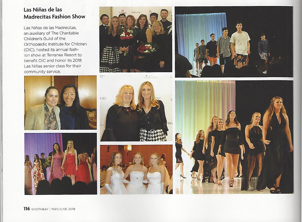 Las Ninas Fashion Show 2018 - South Bay Magazine