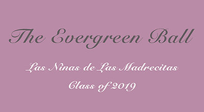 Evergreen Ball Save the Date – December 28, 2018