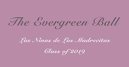 Evergreen Ball Save the Date – December 28, 2018