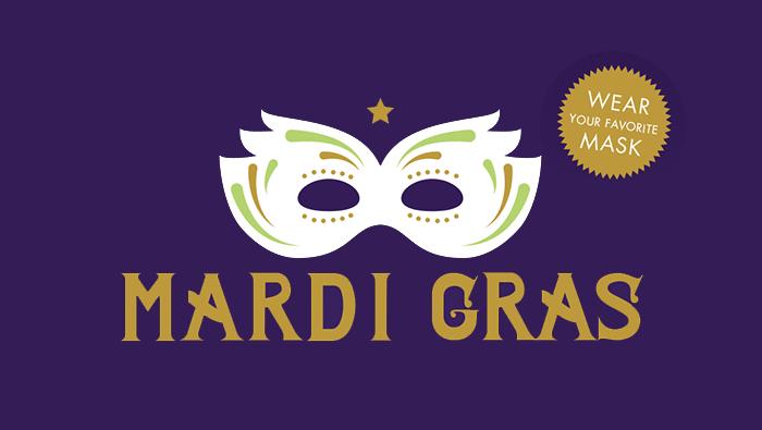 Mardi Gras Fall Fundraiser Invitation & RSVP